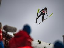 Thea Minyan BJOERSETH (NOR) competes in the Ski Jumping Women Large Hill Individual