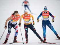 Pia FINK (GER) competes in the Cross Country Women's Relay 4x5.0 km