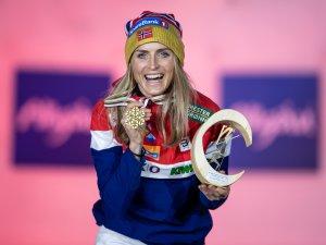 World champion Therese JOHAUG (NOR)
