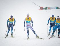 From Left to the right: Joni Maki Team Finland (Freestyle), William Poromaa Team Sweden (Freestyle), Roman Furger Team Switzerla