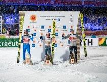 Wettbewerb auf der Großschanze