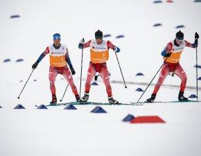Vorläufer mit Kästle-Ski im Einsatz