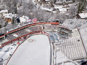 General view during the Ski Jumping Men Nordic Combined Team Sprint LH/2x7.5km