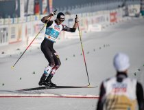 Lukas Greiderer (AUT) crosses the finish
