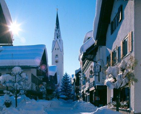 Oberstdorf - sonniger Wintertag