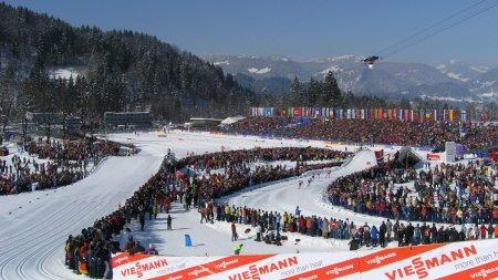 WM-Langlauf Arena von 2005