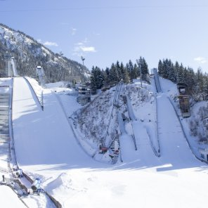 WM-Skisprung Arena Oberstdorf