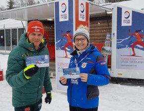 Verena Sternitzke und Tobias Angerer