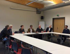 Pressegespräch im Rahmen des Coordination Group Meetings