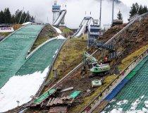 Baumaßnahme Skisprungstadion 15.04.2019