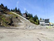 Baumaßnahme Skisprungstadion 26.04.2019