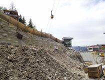 Baumaßnahme Skisprungstadion 18.06.2019