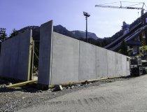 Baumaßnahme Skisprungstadion 12.08.2019