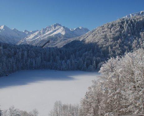 Freibergsee Winter