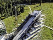 Baumaßnahme Skisprungstadion 16.09.2019