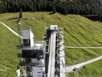 Baumaßnahme Skisprungstadion 07.10.2019