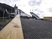 Baumaßnahme Skisprungstadion 08.11.2019