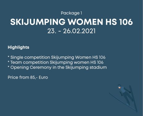 Package 1 Skijumping Women