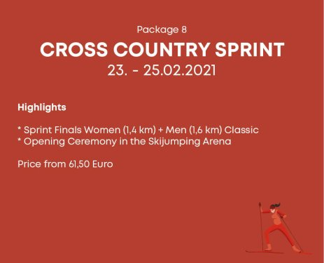 Package 8 Cross Country Sprint