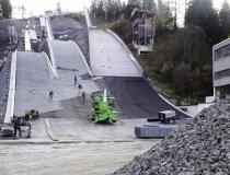 Baumaßnahme Skisprungstadion 02.12.2019