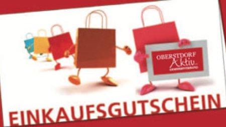 Teaser aktuell Einkaufsgutschein