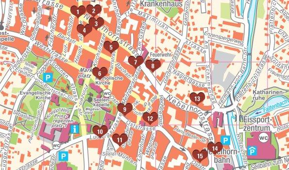Karte Hiisle web