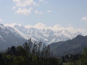 Die Oberstdorfer Berge im Frühjahr