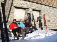 Fiederepasshütte im Winter