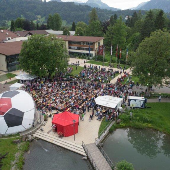WM Public Viewing Oberstdorf