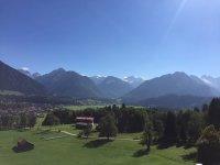 Oberstdorf Aussicht von Reute