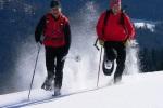 Schneeschuhrennen bei den Wintergames