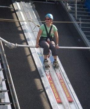 Skispringen im Sommer