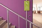 Treppenaufgang zum Büro Oberstdorf Event