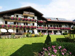 Das Hotel garni Gerberhof im Sommer