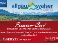 Die neue Allgäu-Walser-Card exklusiv für Oberstdorf-Gäste