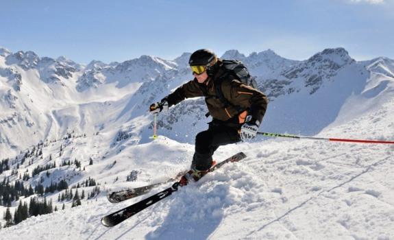 Traumhafte Skibedingungen auf den Bergen