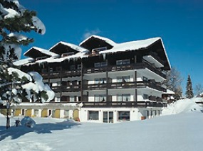 Das Hotel Kappeler-Haus im Winter