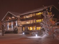 Das Hotel garni Schellenberg im Winter
