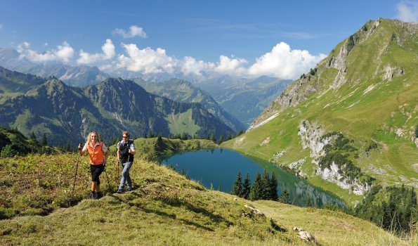 Wandern am Seealpsee (c) Photographie Monschau