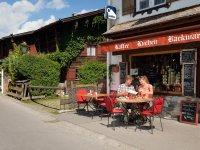 Café in der bekannten Oberstdorfer Oststraße