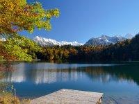 Der Freibergsee im Herbst