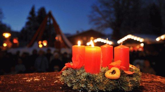 Advent in Oberstdorf