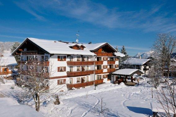 Das Hotel Rubihaus im Winter