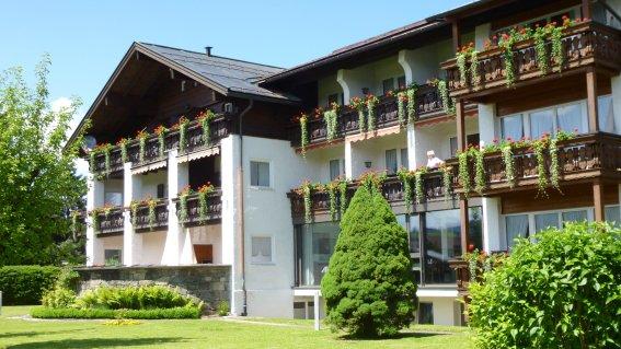 Hotel Schellenberg im Sommer