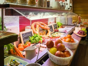 Frühstück im Hotel Tannhof