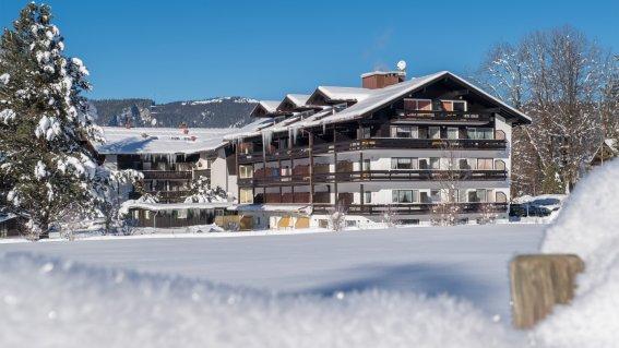 Das Kappeler-Haus im Winter