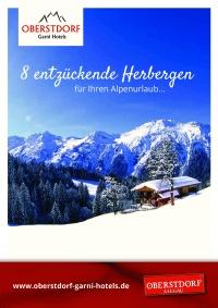 Broschüre Oberstdorf Garni Hotels 2017/18