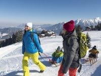 Winterwandern am Söllereck (c) OK Bergbahnen - Jennifer Tautz