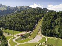 Die Skiflugschanze im Stillachtal (c) Sportstätten Oberstdorf-Eren Karaman