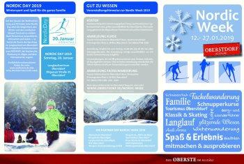 Programm Nordic Week 2019